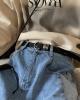 Ремень Attitude Studio Faux Leather Belt Metal Rings Design (3)