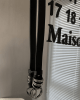 Ремень Attitude Studio Faux Leather Belt Metal Rings Design (5)