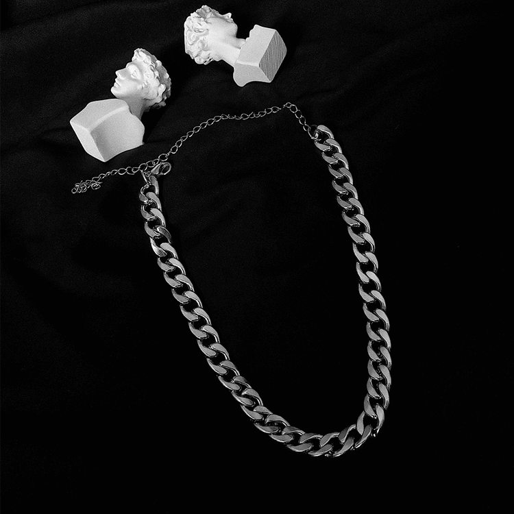 Колье SAZ Studio Thick Cuban Weave Necklace