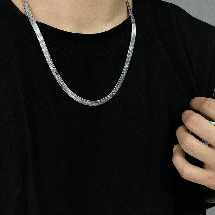 Колье SAZ Studio Snake Weave Necklace Silver