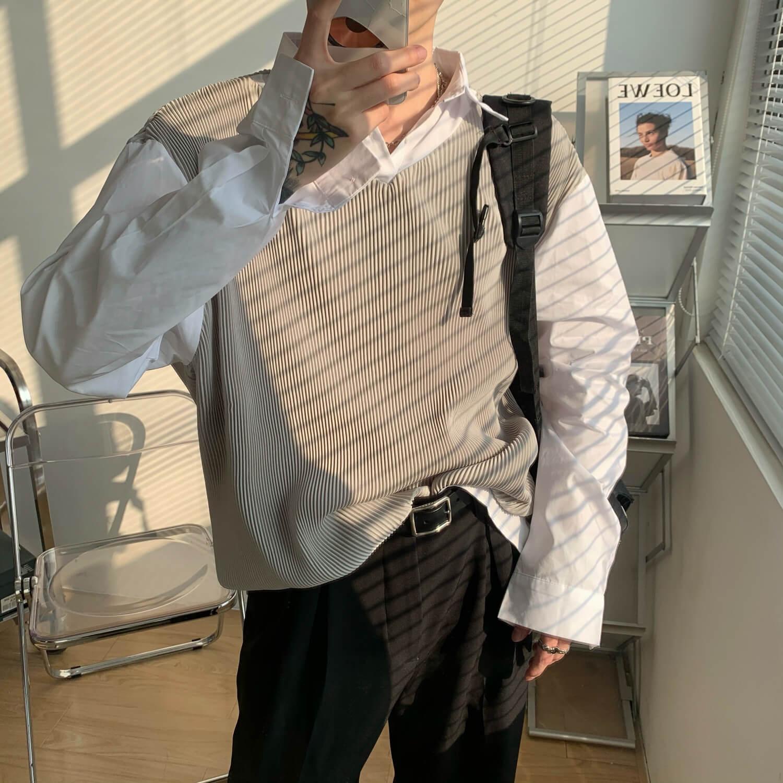 Жилет Cui Layout Studio V-Neck Corduroy Vest (1)