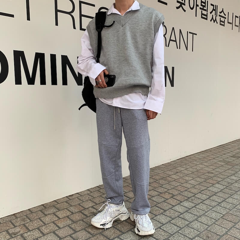 Жилет Cui Layout Studio Wool Vest V-Neck (10)