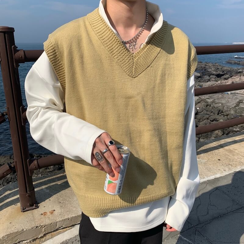 Жилет Cui Layout Studio Wool Vest V-Neck (13)