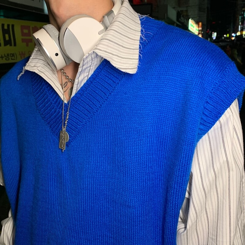 Жилет Cui Layout Studio Wool Vest V-Neck (8)