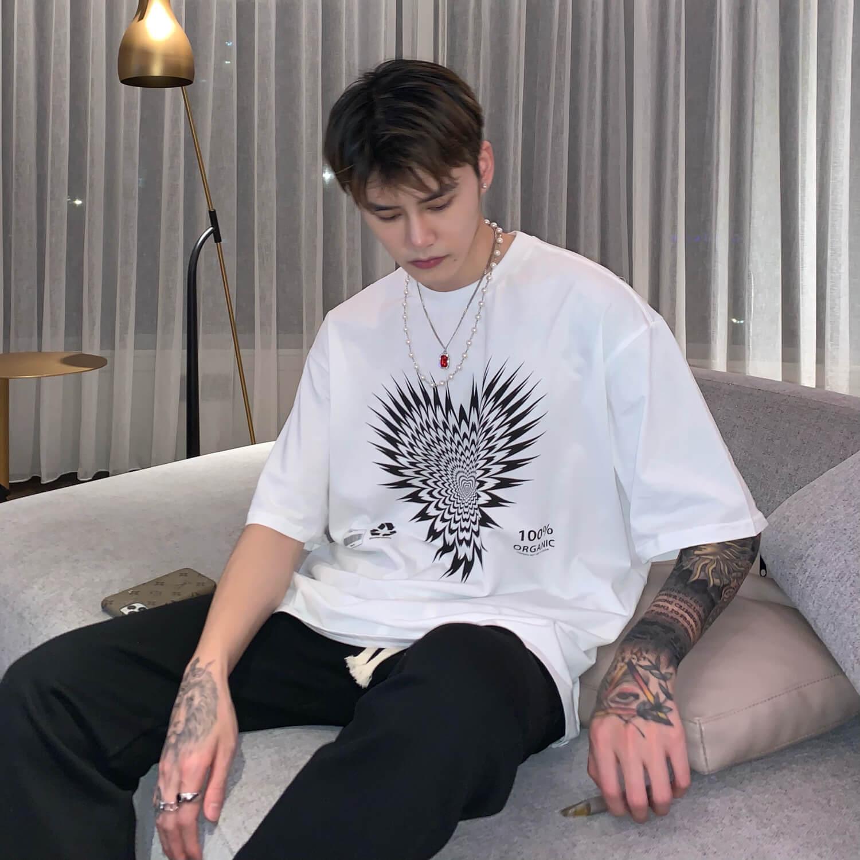 Футболка Cui Layout Studio T-shirt Organic Heart Print (9)