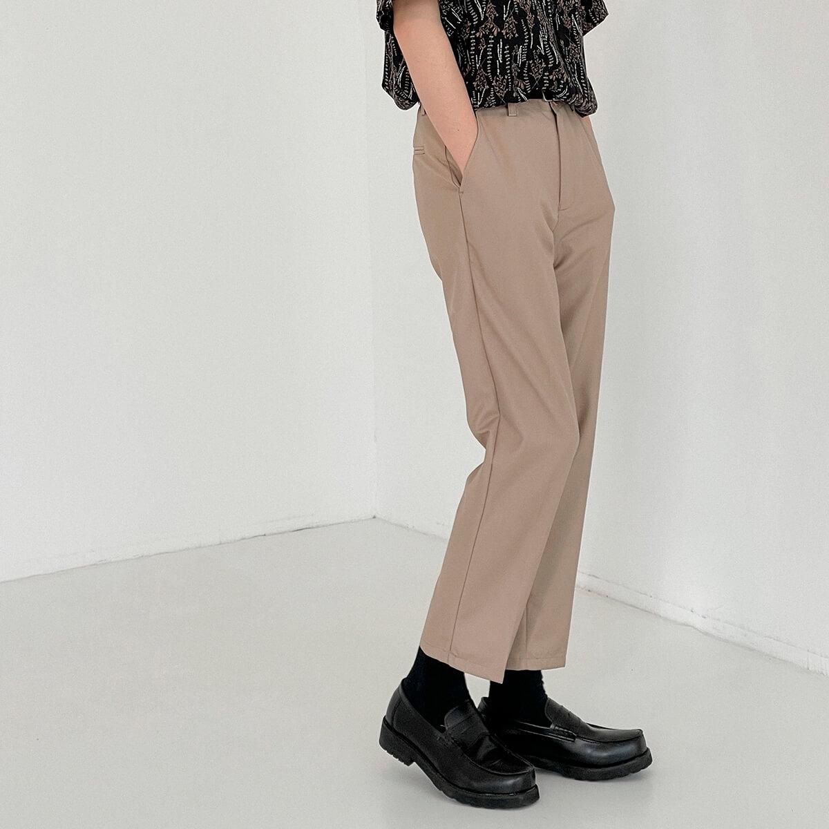 Брюки DAZO Studio Straight Crop Basic Pants (1)