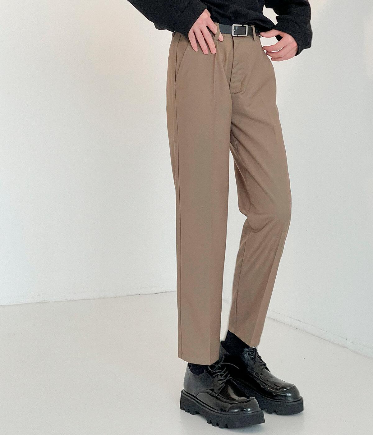 Брюки DAZO Studio Straight Crop Basic Pants (10)