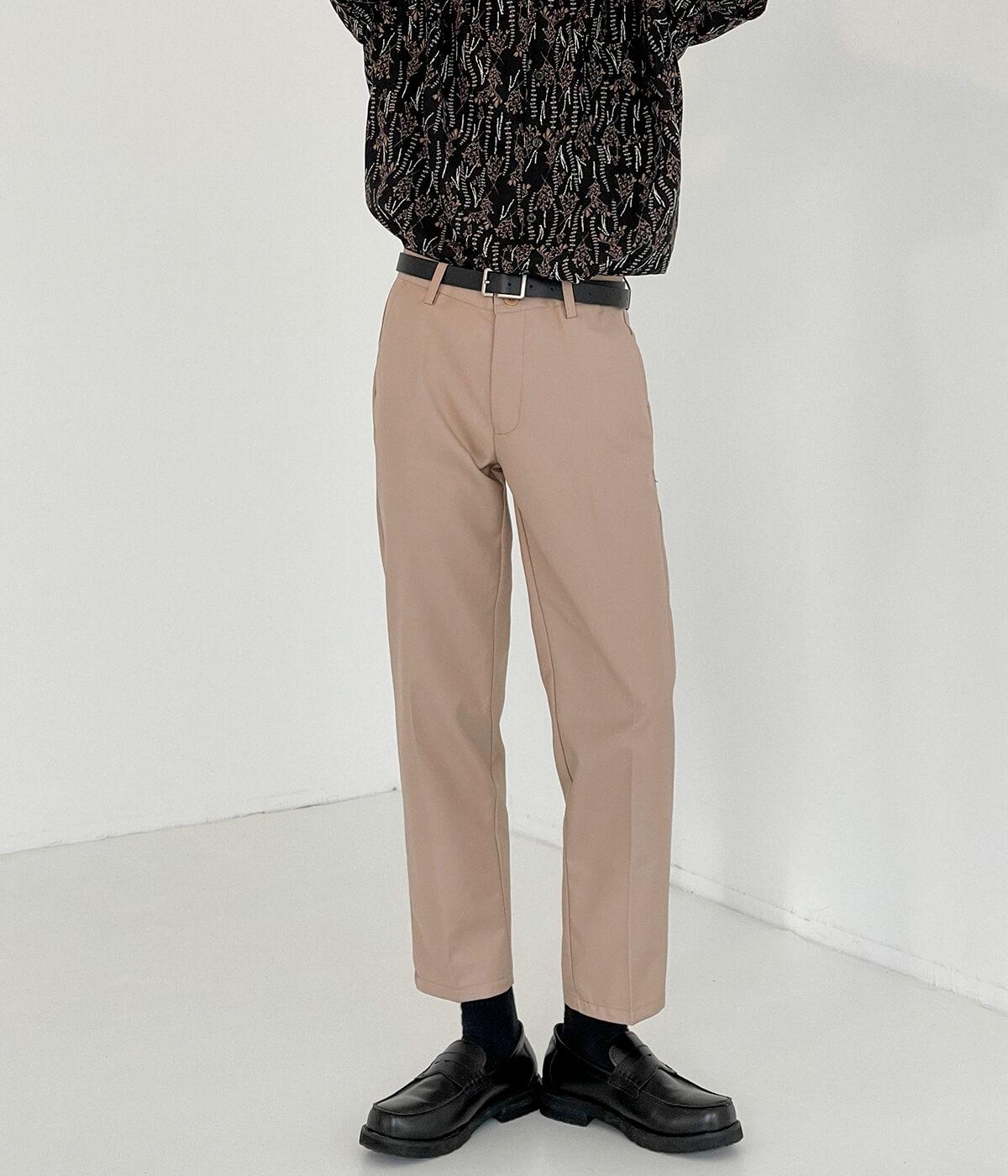 Брюки DAZO Studio Straight Crop Basic Pants (4)