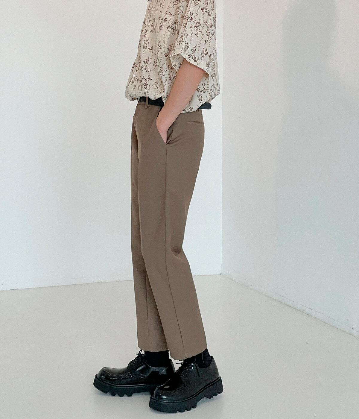 Брюки DAZO Studio Straight Crop Basic Pants (6)