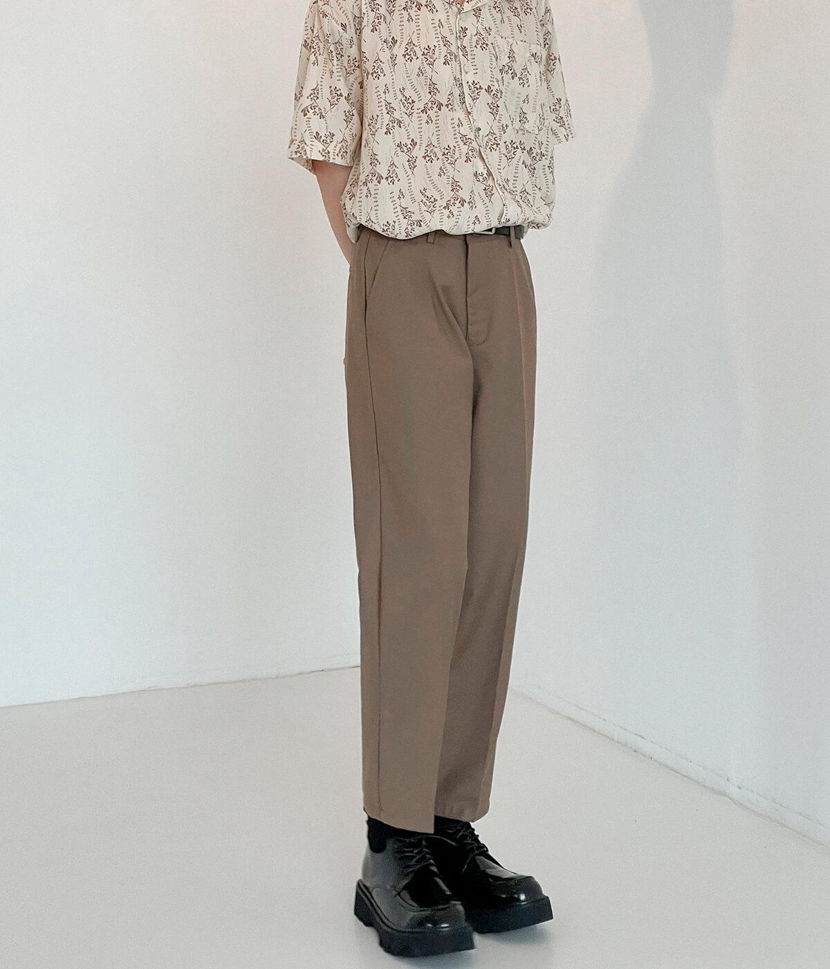 Брюки DAZO Studio Straight Crop Basic Pants (7)