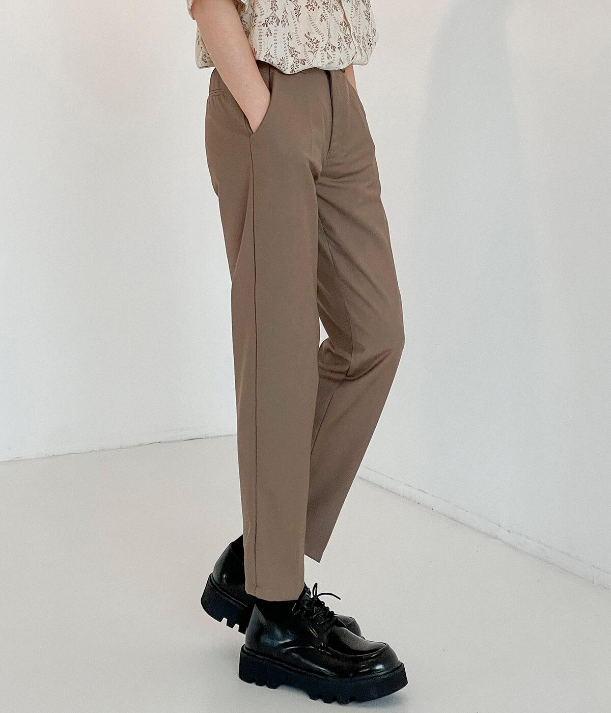 Брюки DAZO Studio Straight Crop Basic Pants (8)