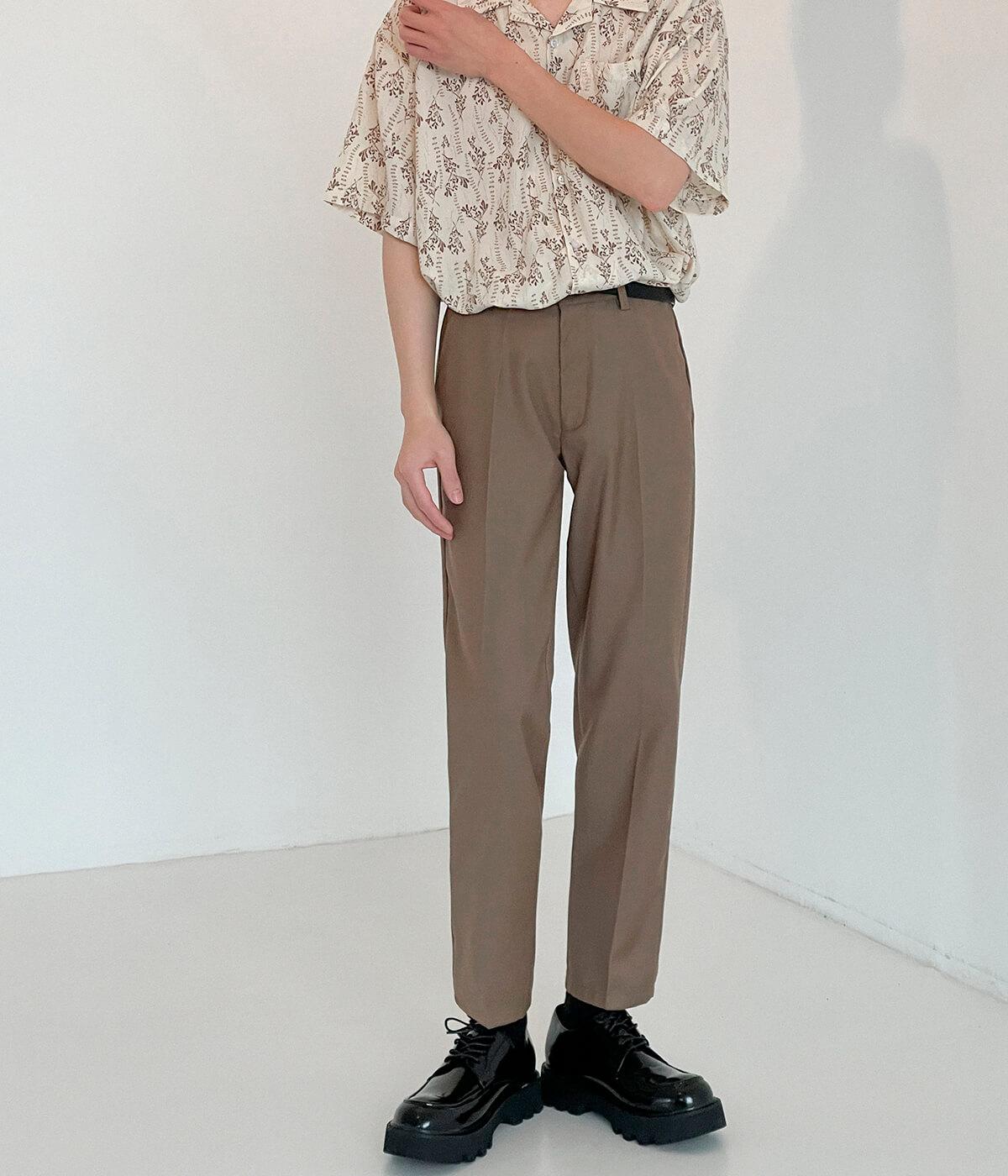 Брюки DAZO Studio Straight Crop Basic Pants (9)