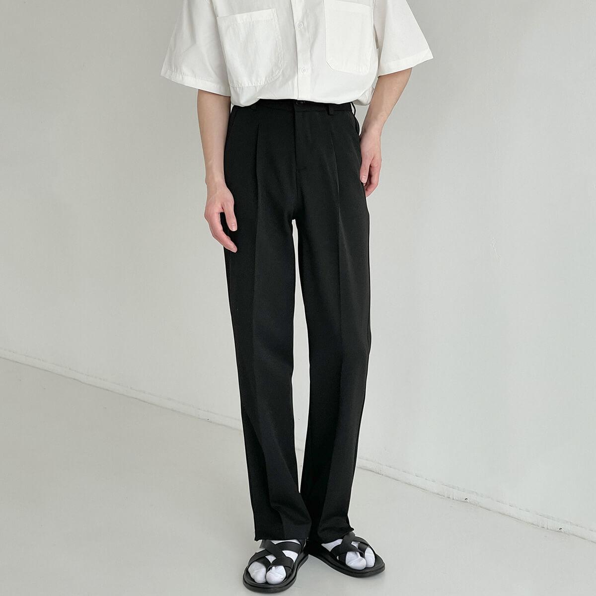 Брюки DAZO Studio Straight Formal Pants Split Bottom (2)