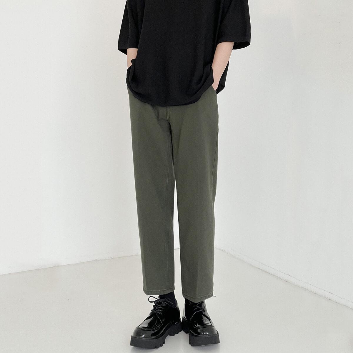 Брюки DAZO Studio Swamp Shade Straight Neat Pants (1)