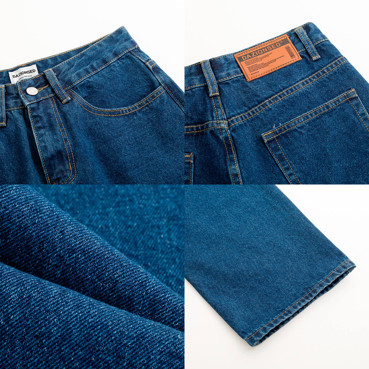 Джинсы DAZO Studio Straight Dark Classic Jeans (10)