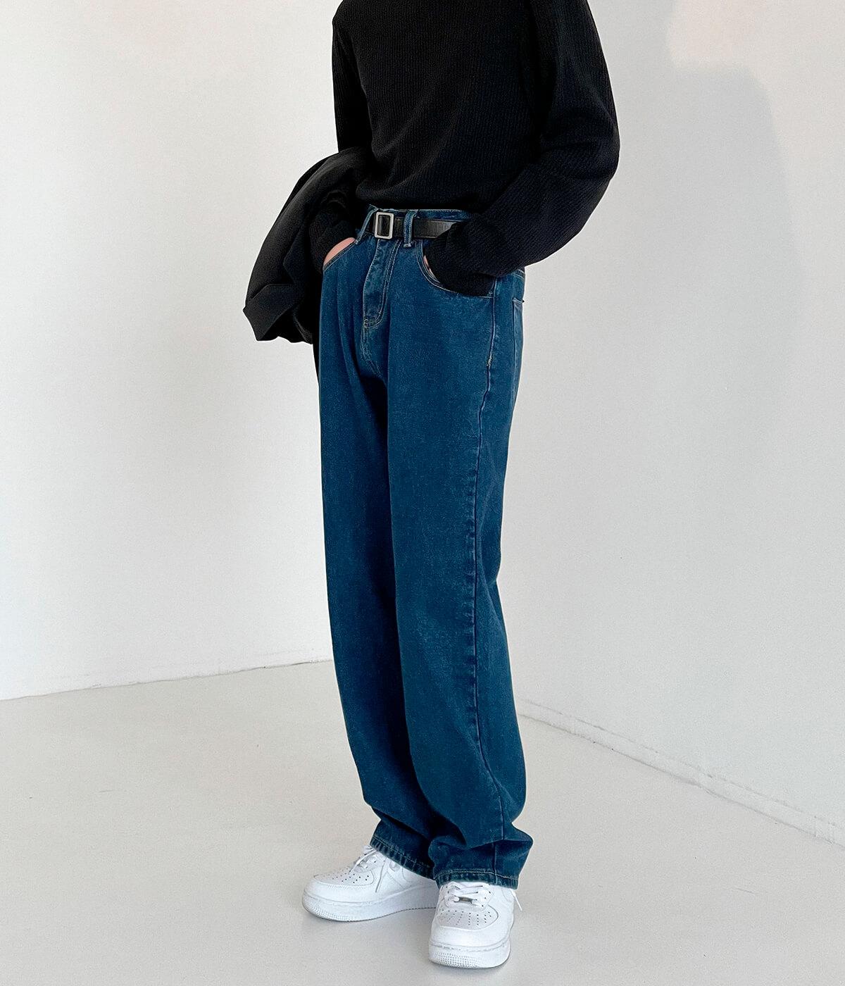 Джинсы DAZO Studio Straight Dark Classic Jeans (8)