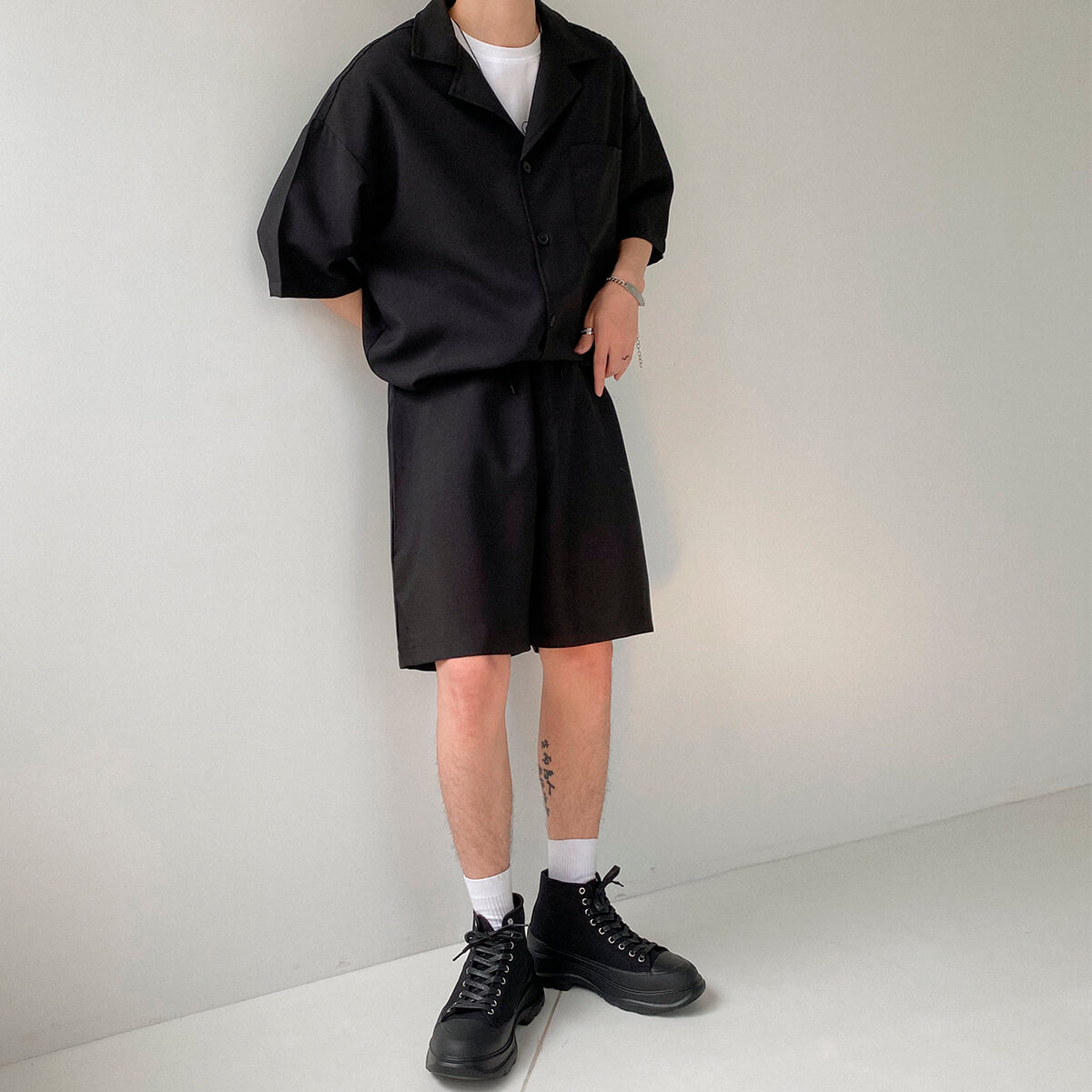 Костюм DAZO Studio Casual Suit Shirt & Shorts (1)