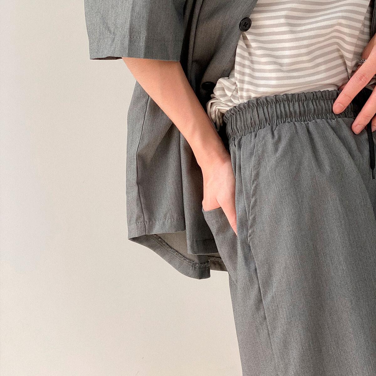 Костюм DAZO Studio Casual Suit Shirt & Shorts (11)