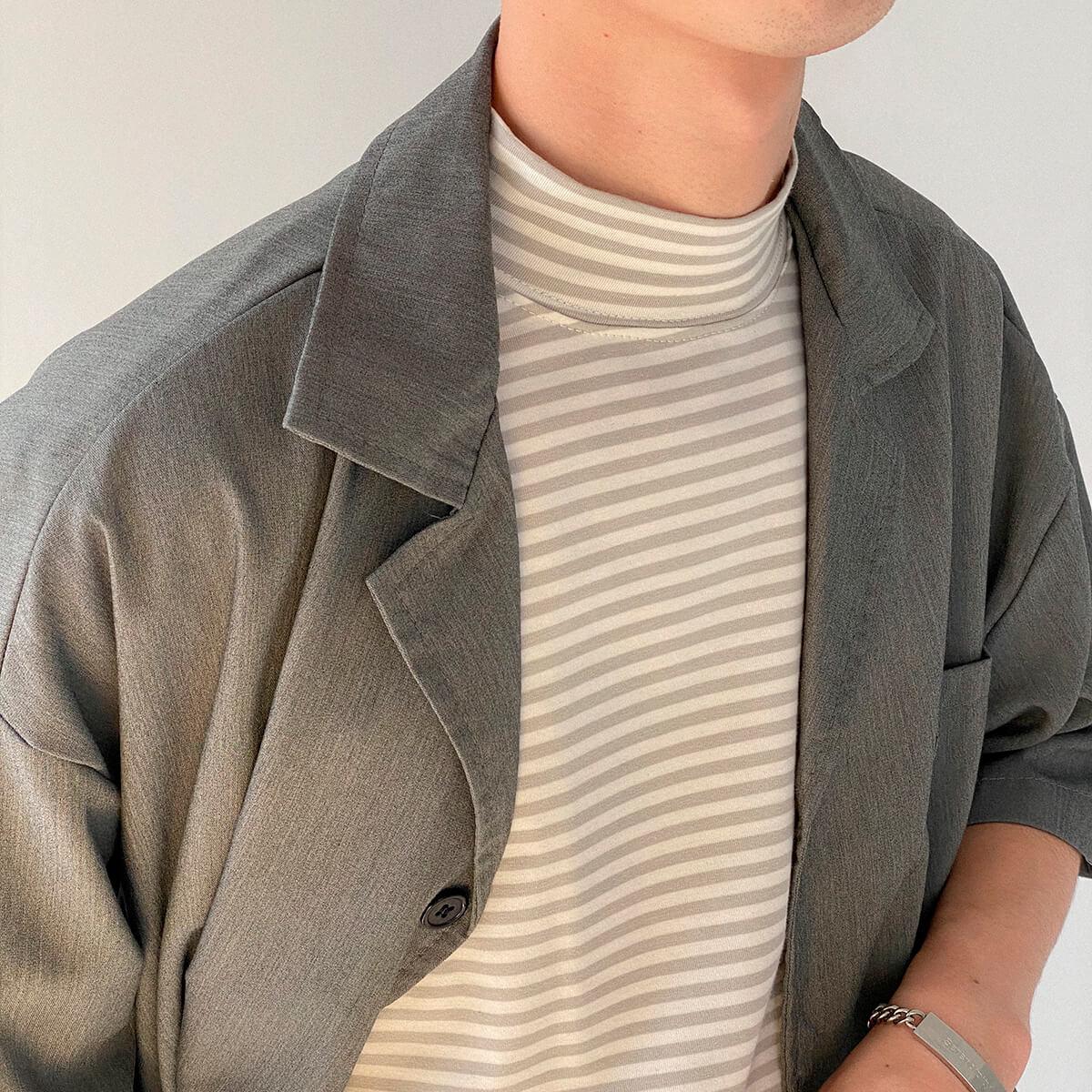 Костюм DAZO Studio Casual Suit Shirt & Shorts (13)