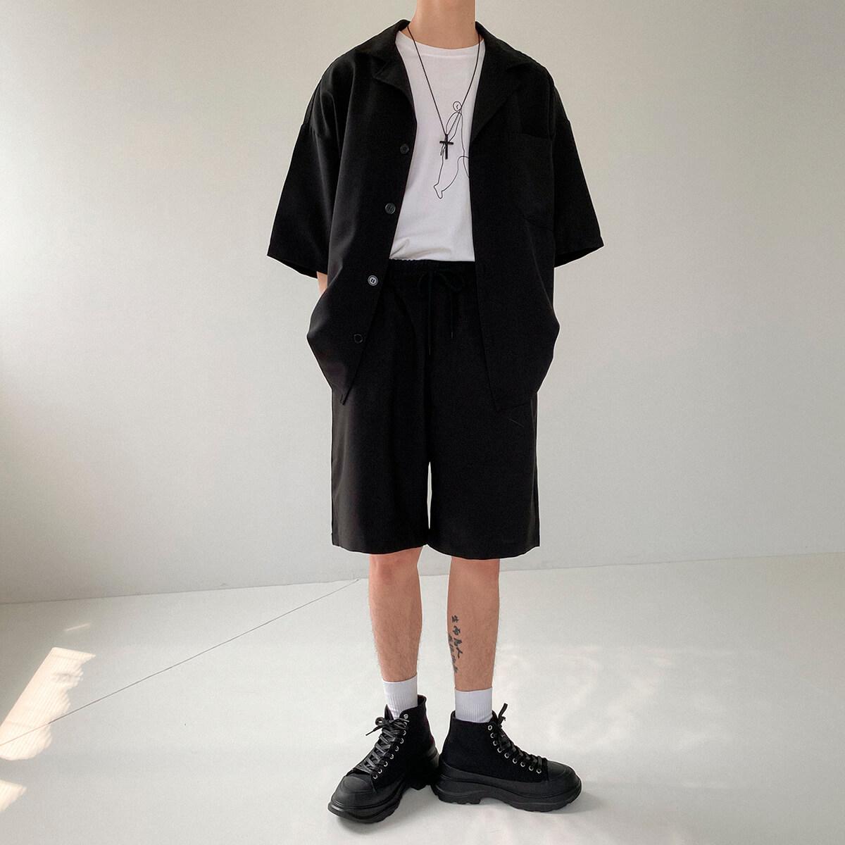 Костюм DAZO Studio Casual Suit Shirt & Shorts (2)