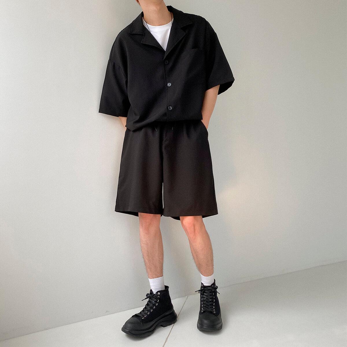 Костюм DAZO Studio Casual Suit Shirt & Shorts (3)