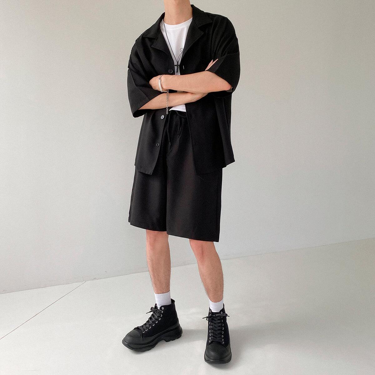 Костюм DAZO Studio Casual Suit Shirt & Shorts (4)