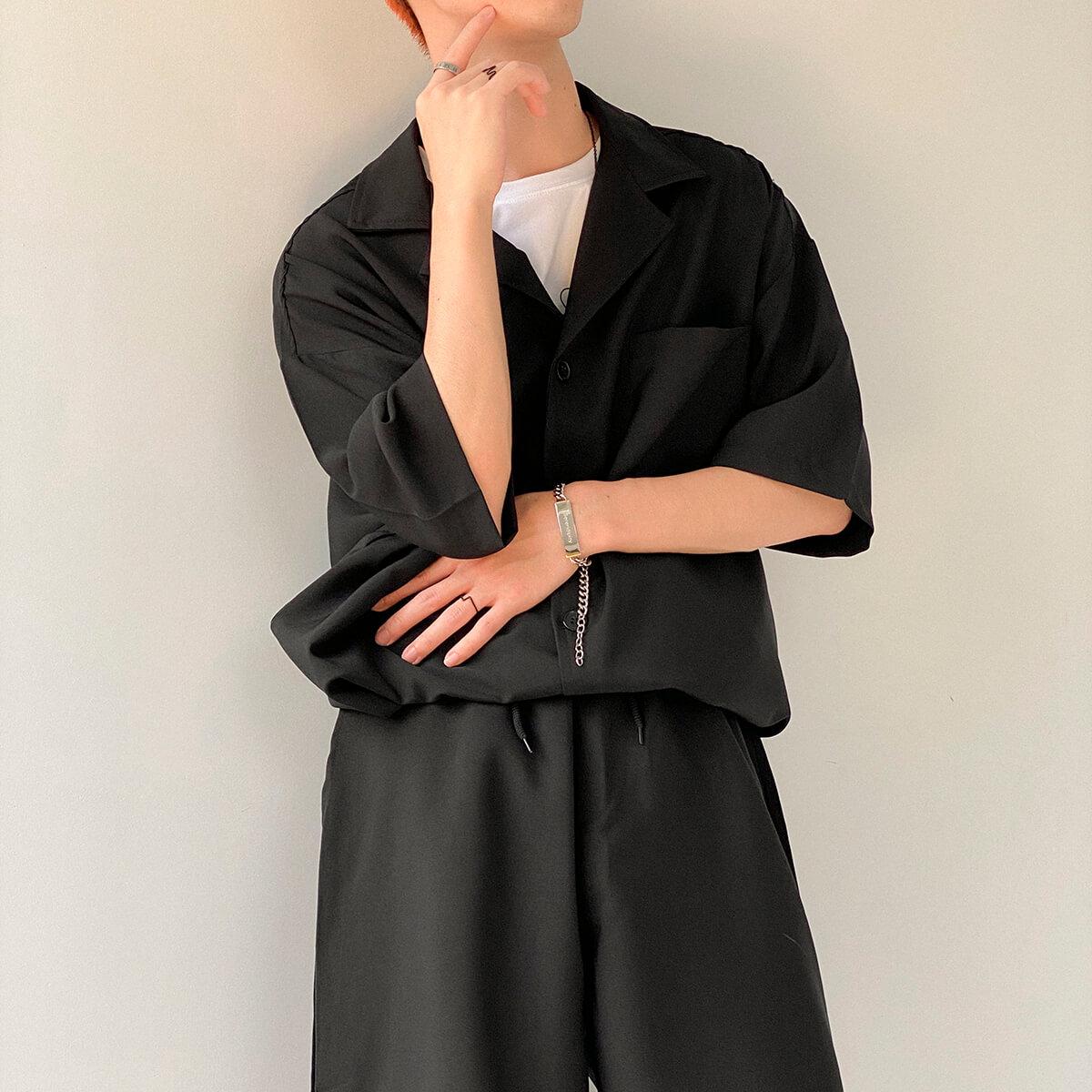 Костюм DAZO Studio Casual Suit Shirt & Shorts (6)