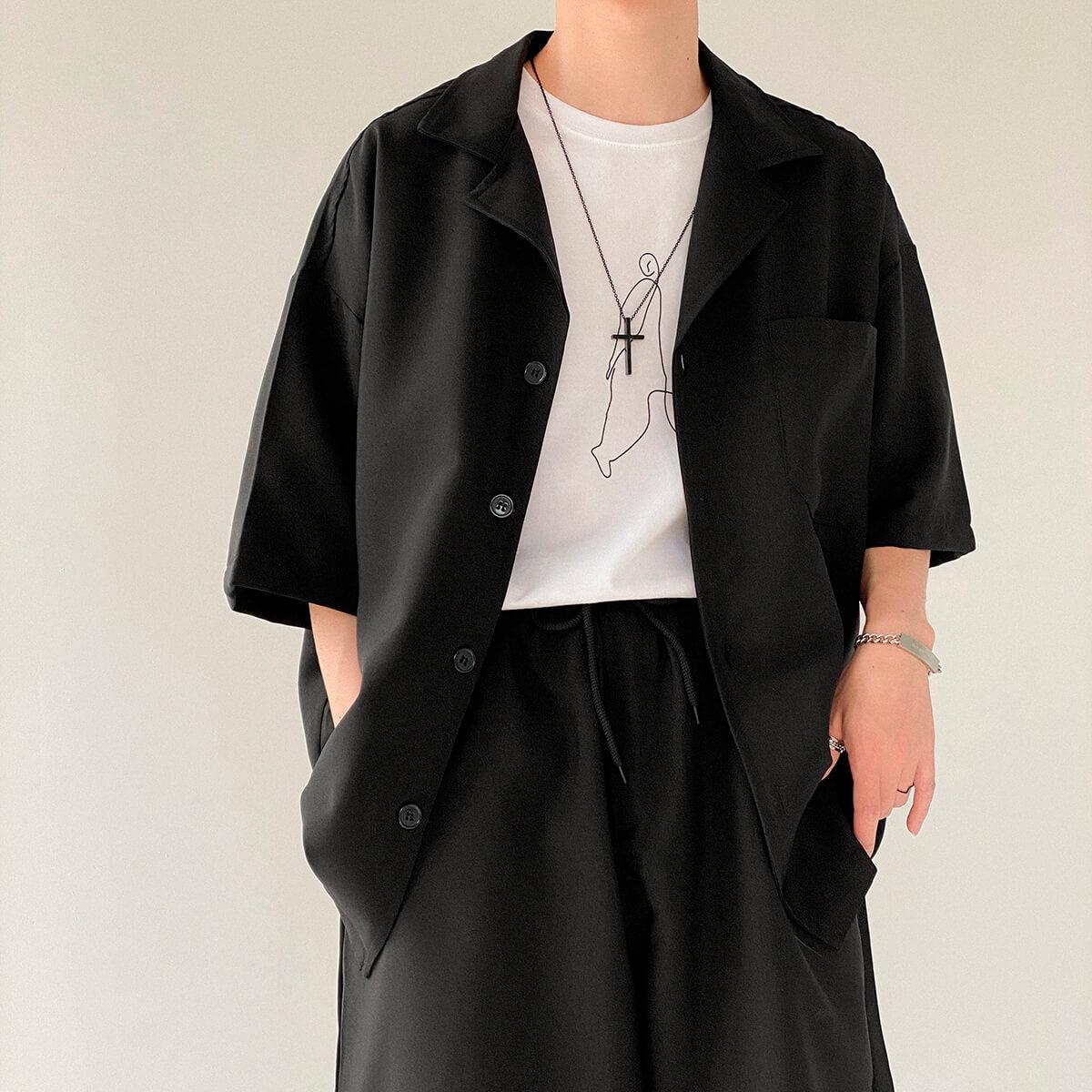 Костюм DAZO Studio Casual Suit Shirt & Shorts (7)