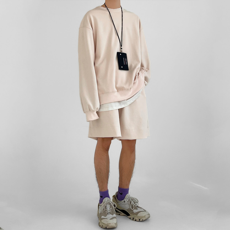Костюм GB Studio Oversized Set Sweatshirt & Shorts (1)