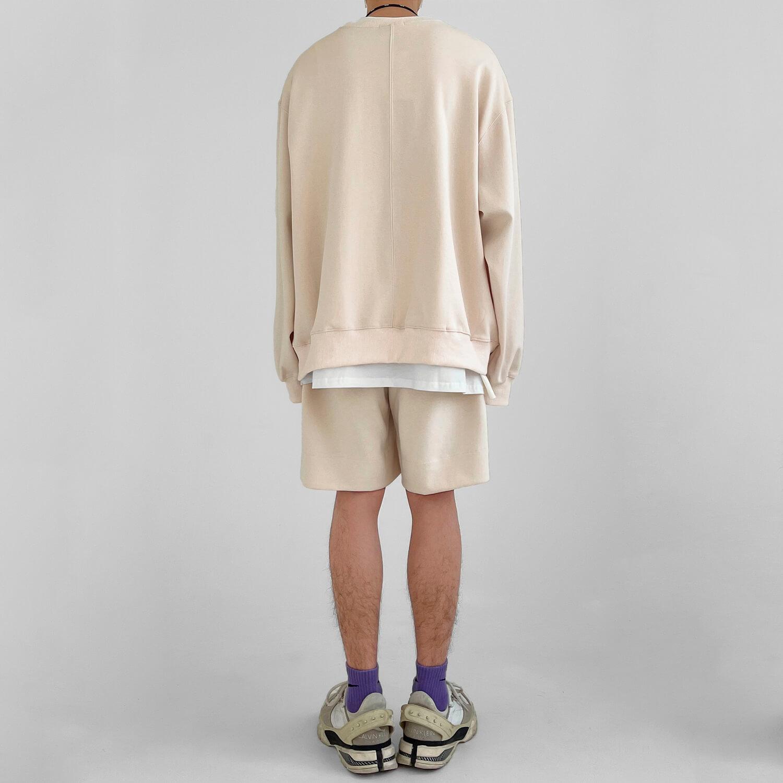 Костюм GB Studio Oversized Set Sweatshirt & Shorts (2)