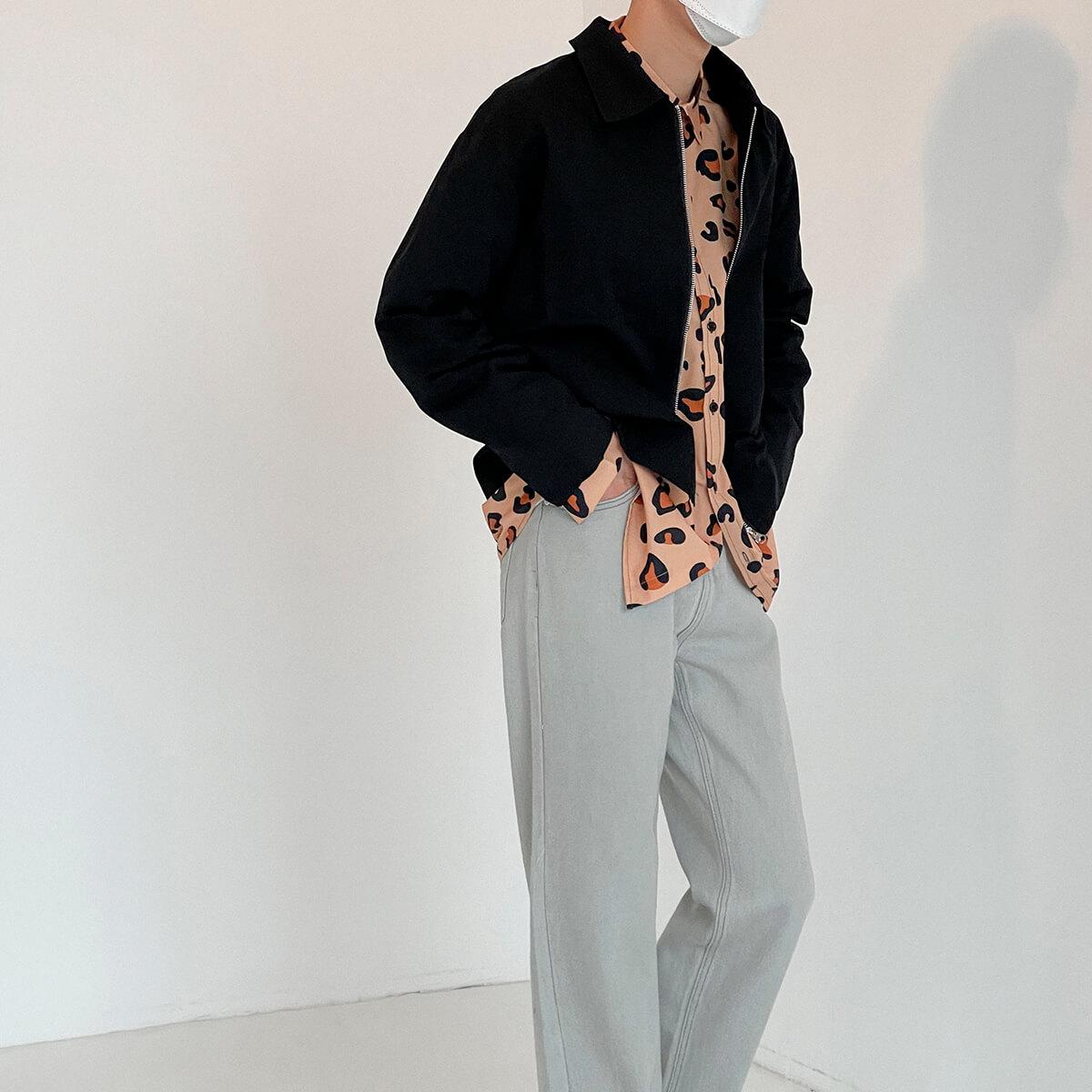 Куртка DAZO Studio Crop Jacket Minimal Design (13)