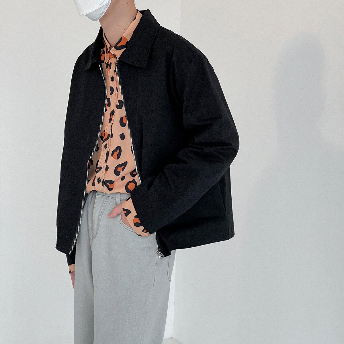 Куртка DAZO Studio Crop Jacket Minimal Design (9)