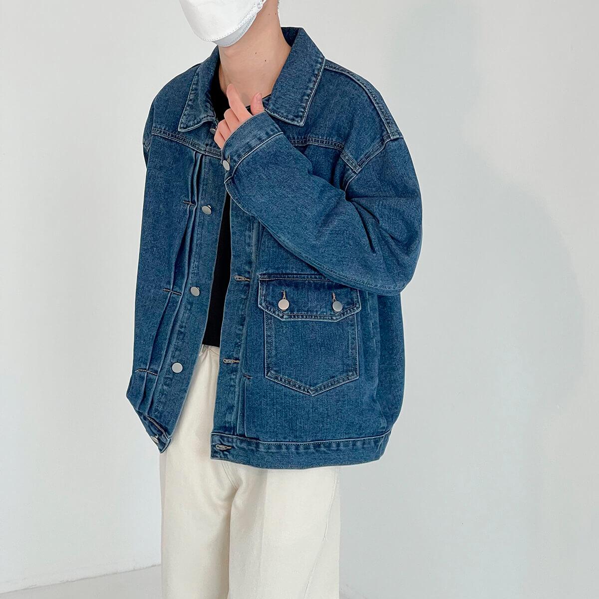 Куртка DAZO Studio Denim Jacket Asymmetrical Design (1)