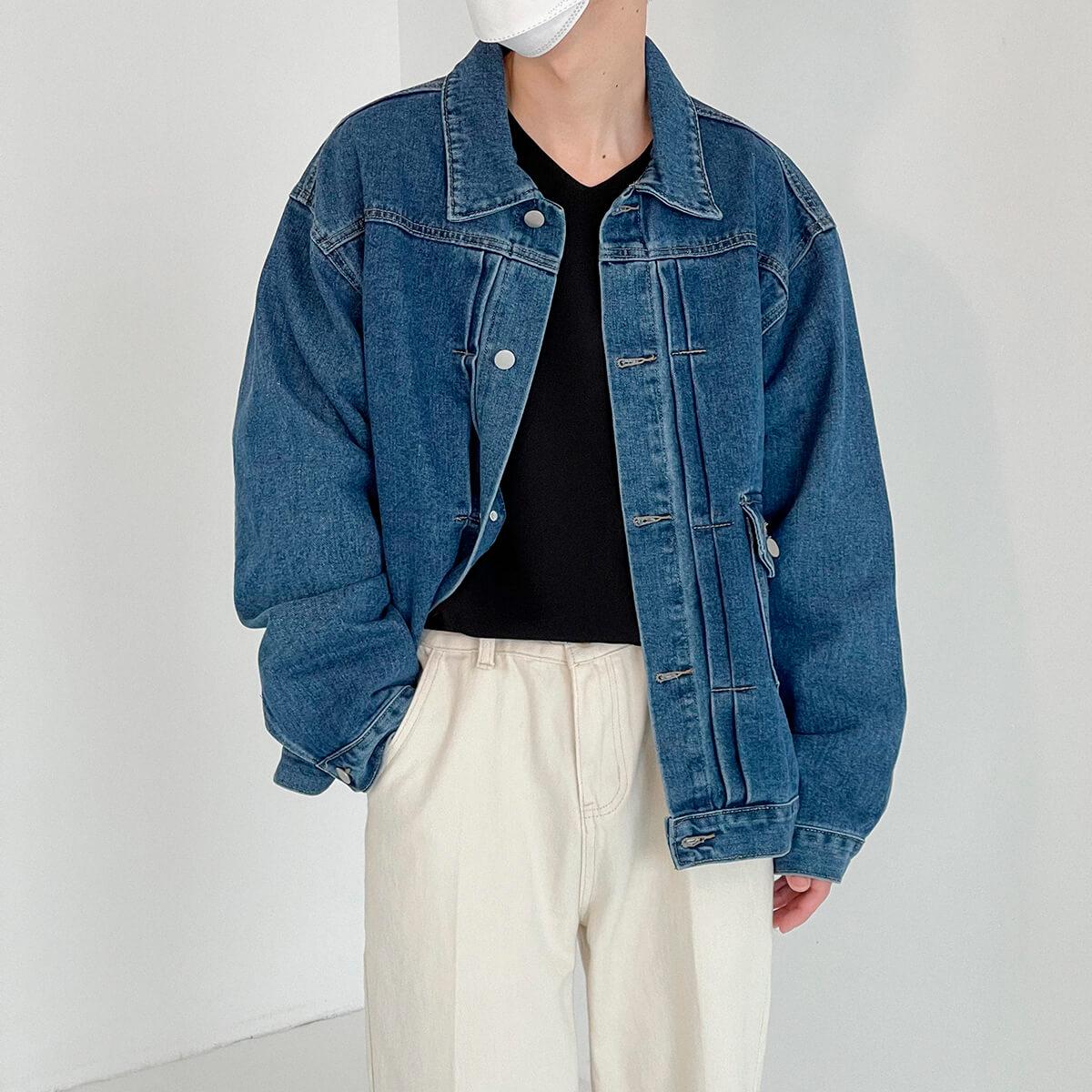 Куртка DAZO Studio Denim Jacket Asymmetrical Design (2)