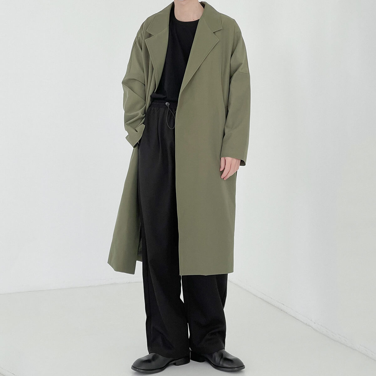 Пальто DAZO Studio Medium Spring Coat Neat Silhouette (1)