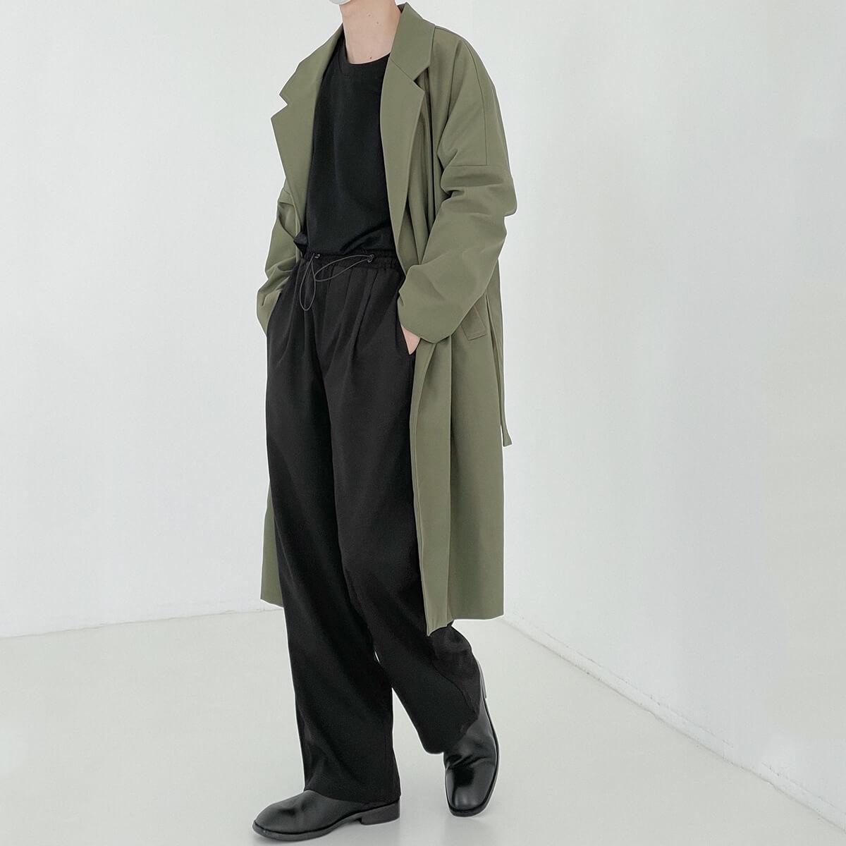 Пальто DAZO Studio Medium Spring Coat Neat Silhouette (2)
