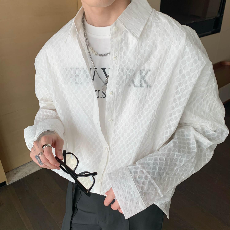 Рубашка Cui Layout Studio Sheer Designer Shirt (1)