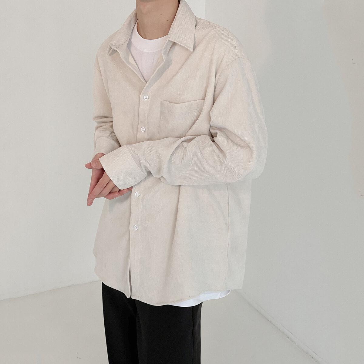 Рубашка DAZO Studio Loose Corduroy Shirt (1)