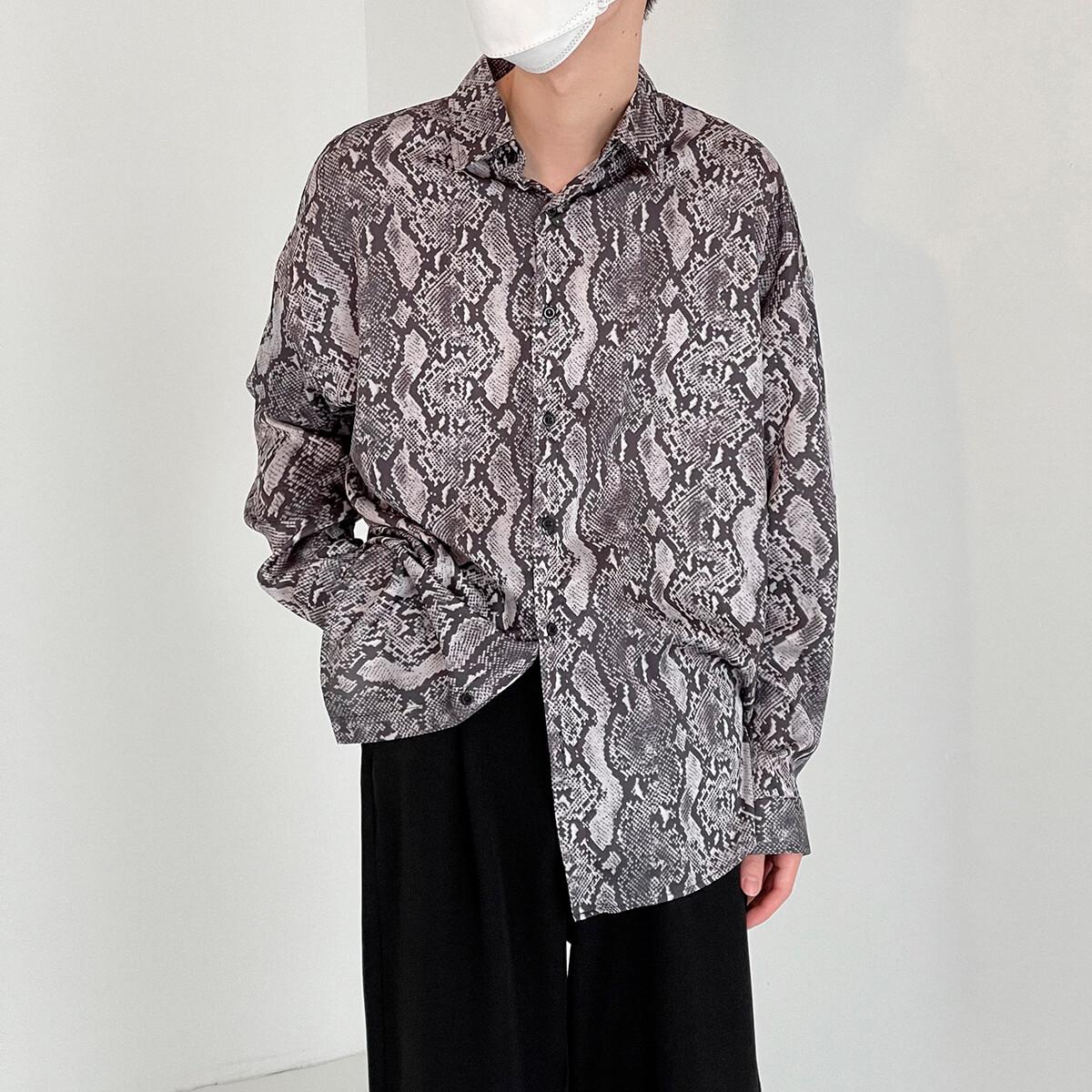 Рубашка DAZO Studio Snake Pattern Shirt (3)