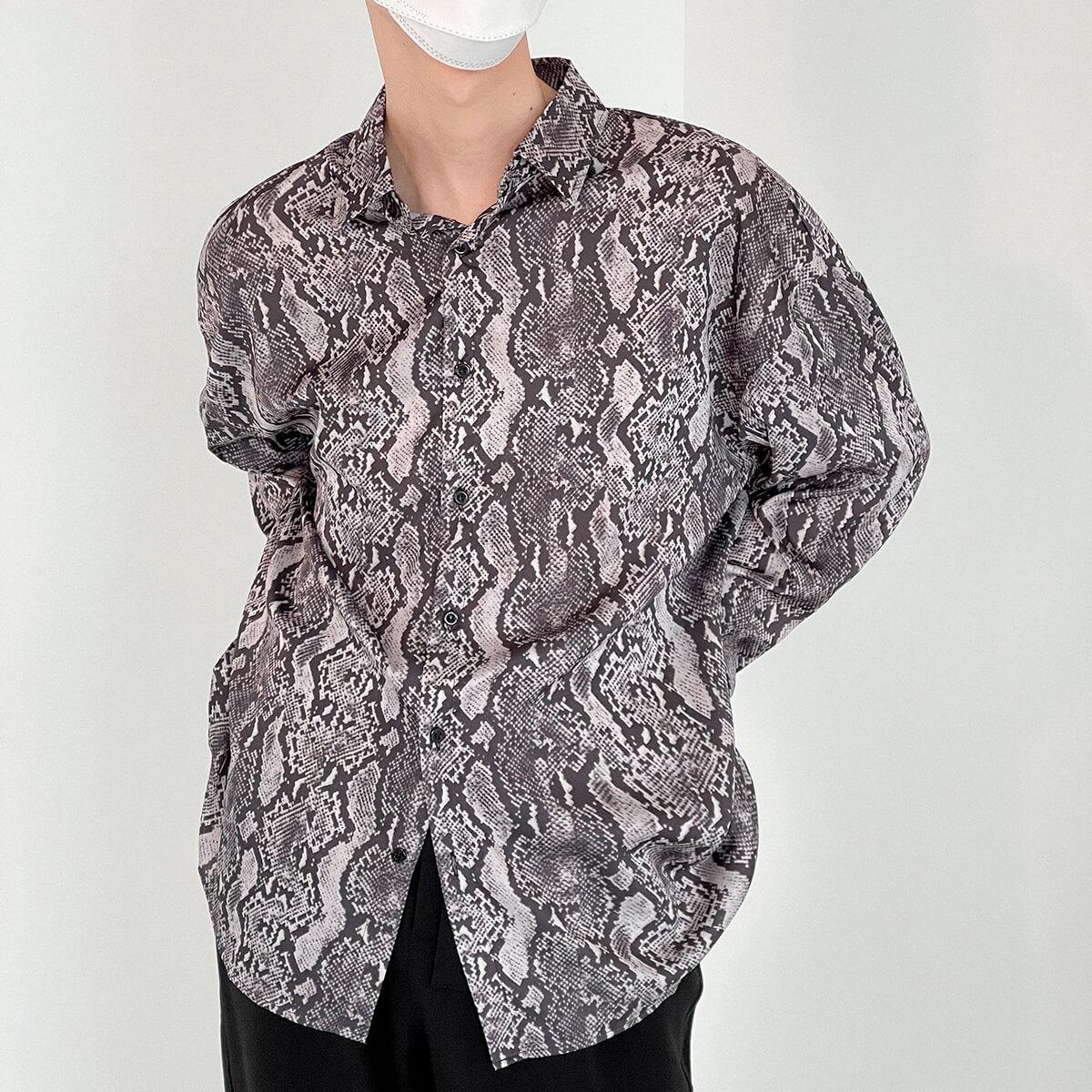 Рубашка DAZO Studio Snake Pattern Shirt (4)
