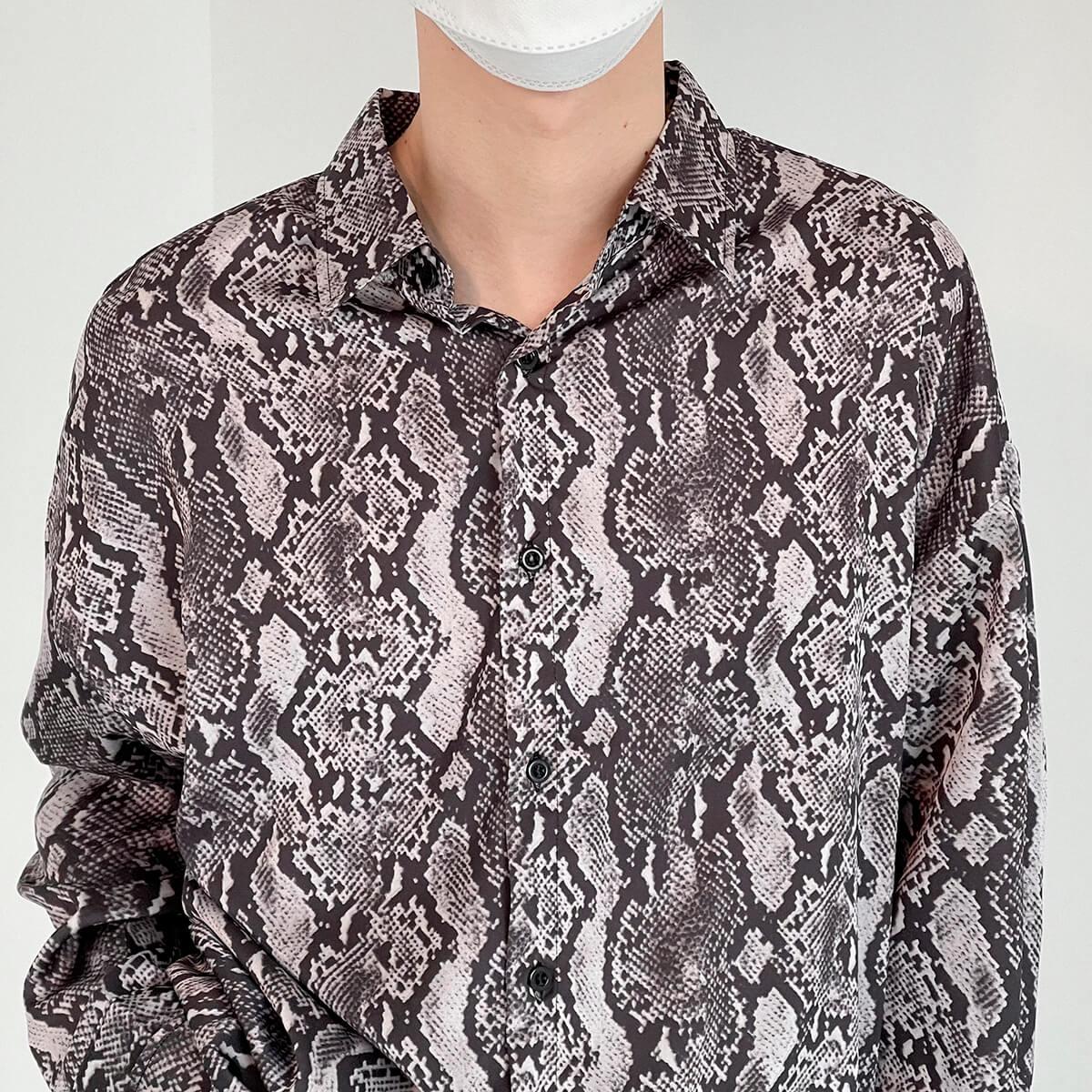 Рубашка DAZO Studio Snake Pattern Shirt (6)