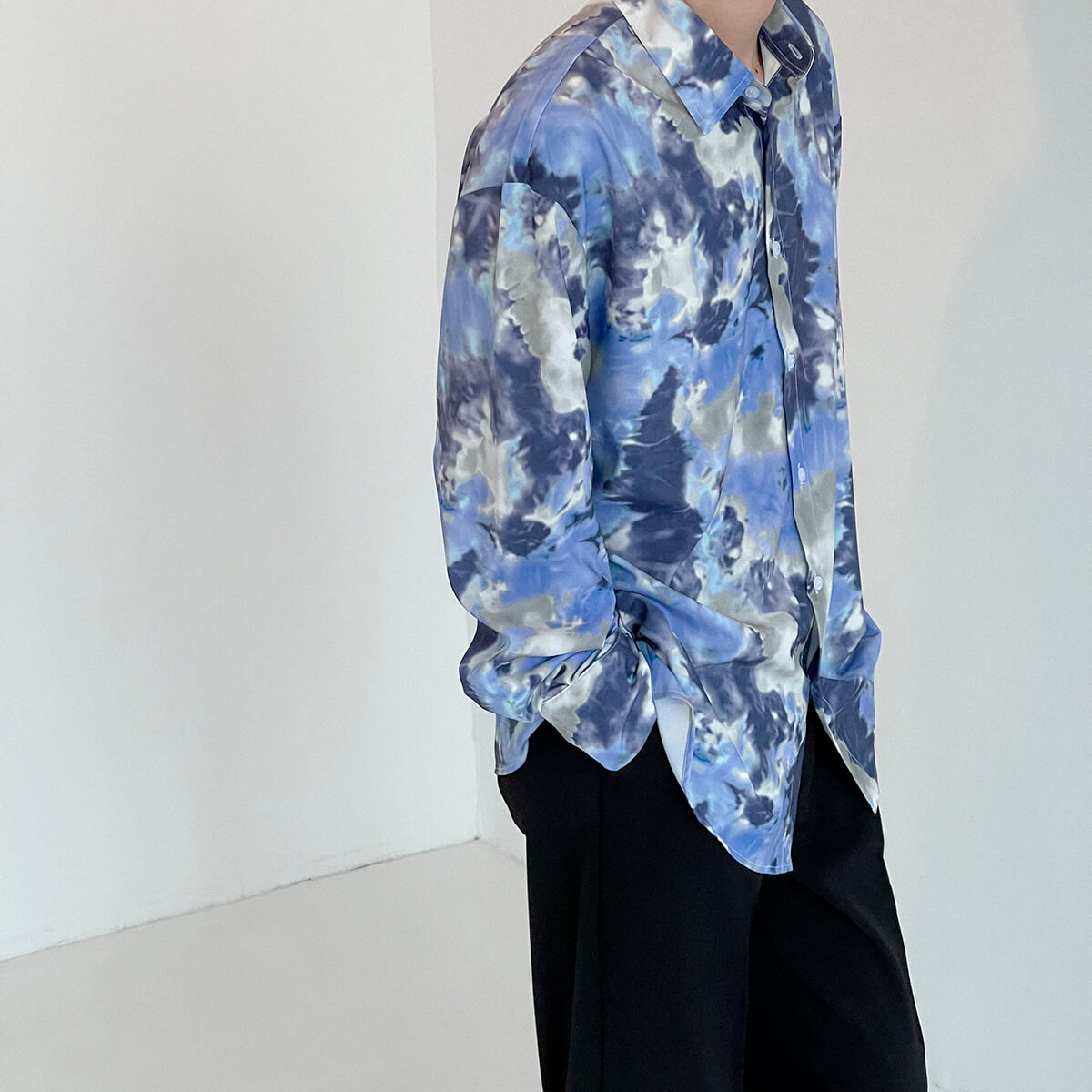 Рубашка DAZO Studio Tai Dai Long Sleeve Shirt (2)