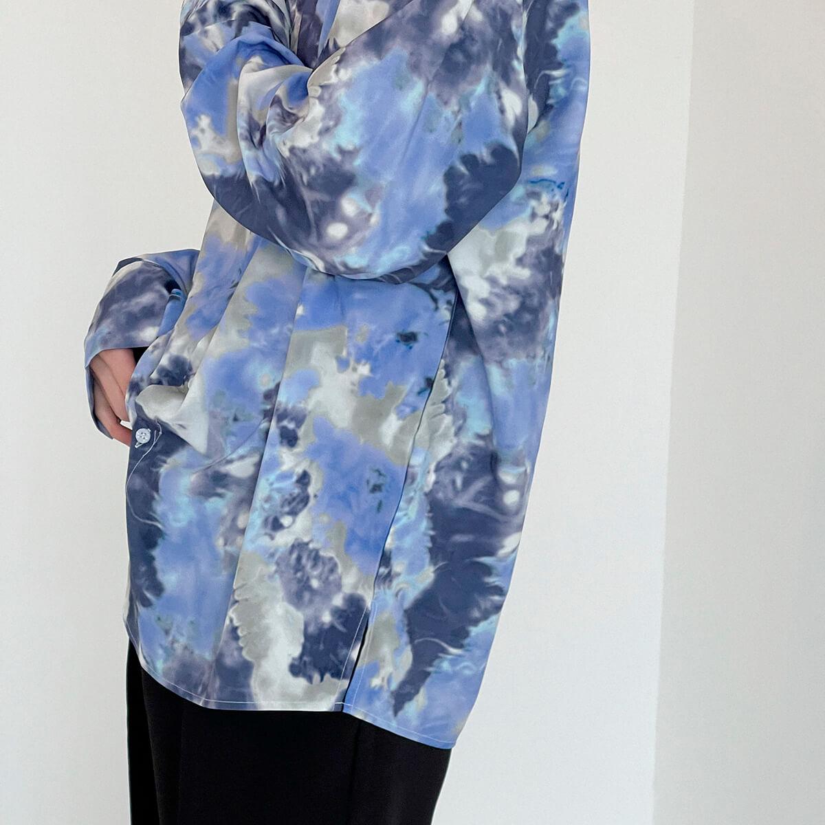 Рубашка DAZO Studio Tai Dai Long Sleeve Shirt (5)