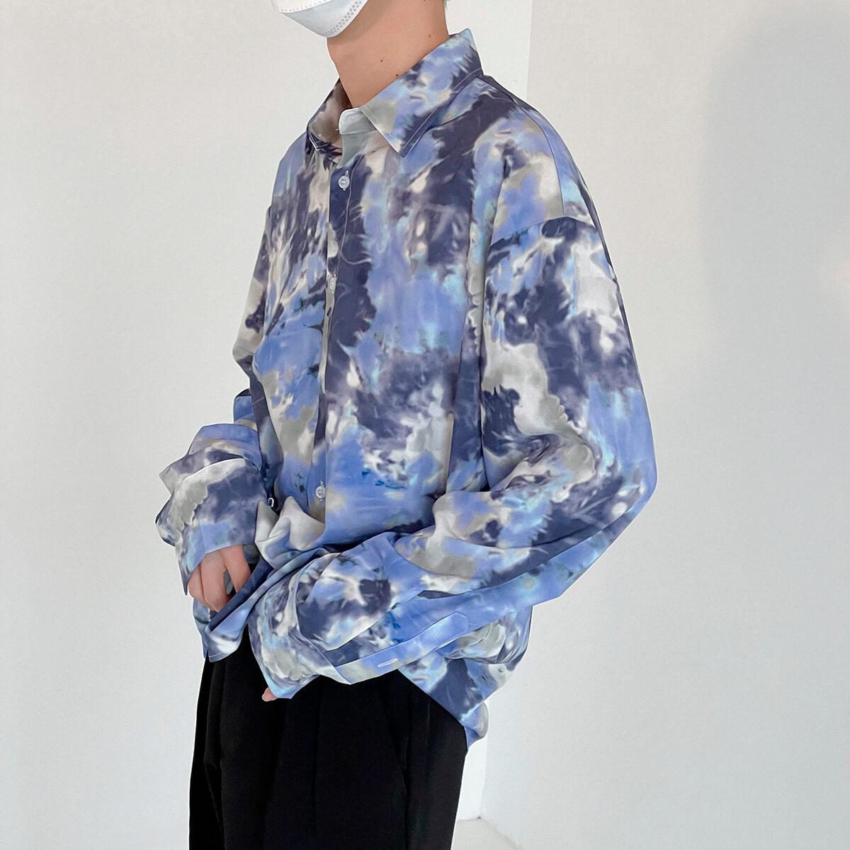 Рубашка DAZO Studio Tai Dai Long Sleeve Shirt (6)