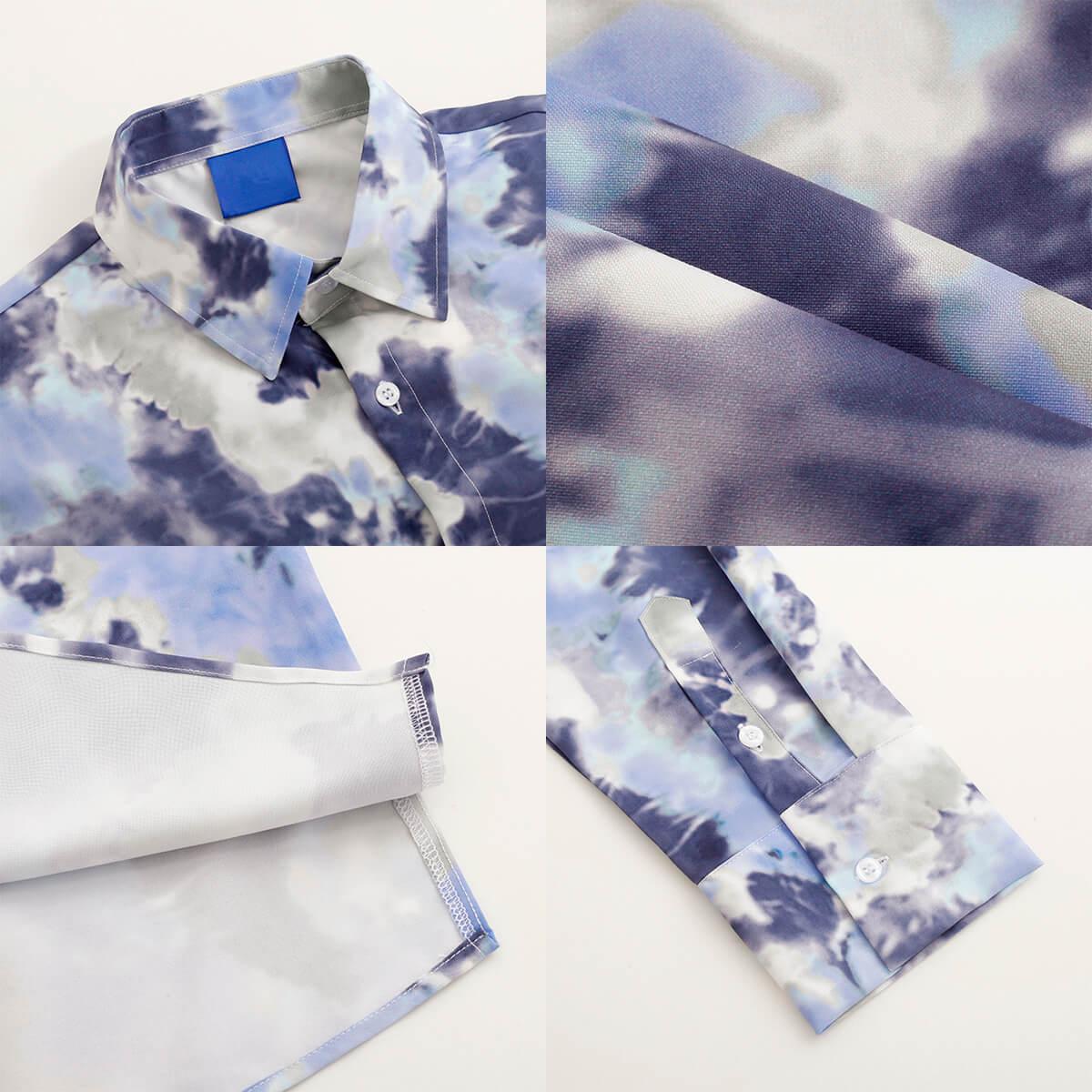 Рубашка DAZO Studio Tai Dai Long Sleeve Shirt (7)