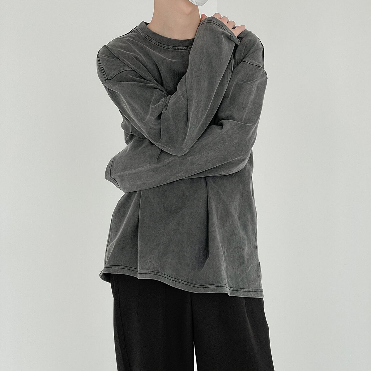 Лонгслив DAZO Studio Sweatshirt Grunge Shade (4)