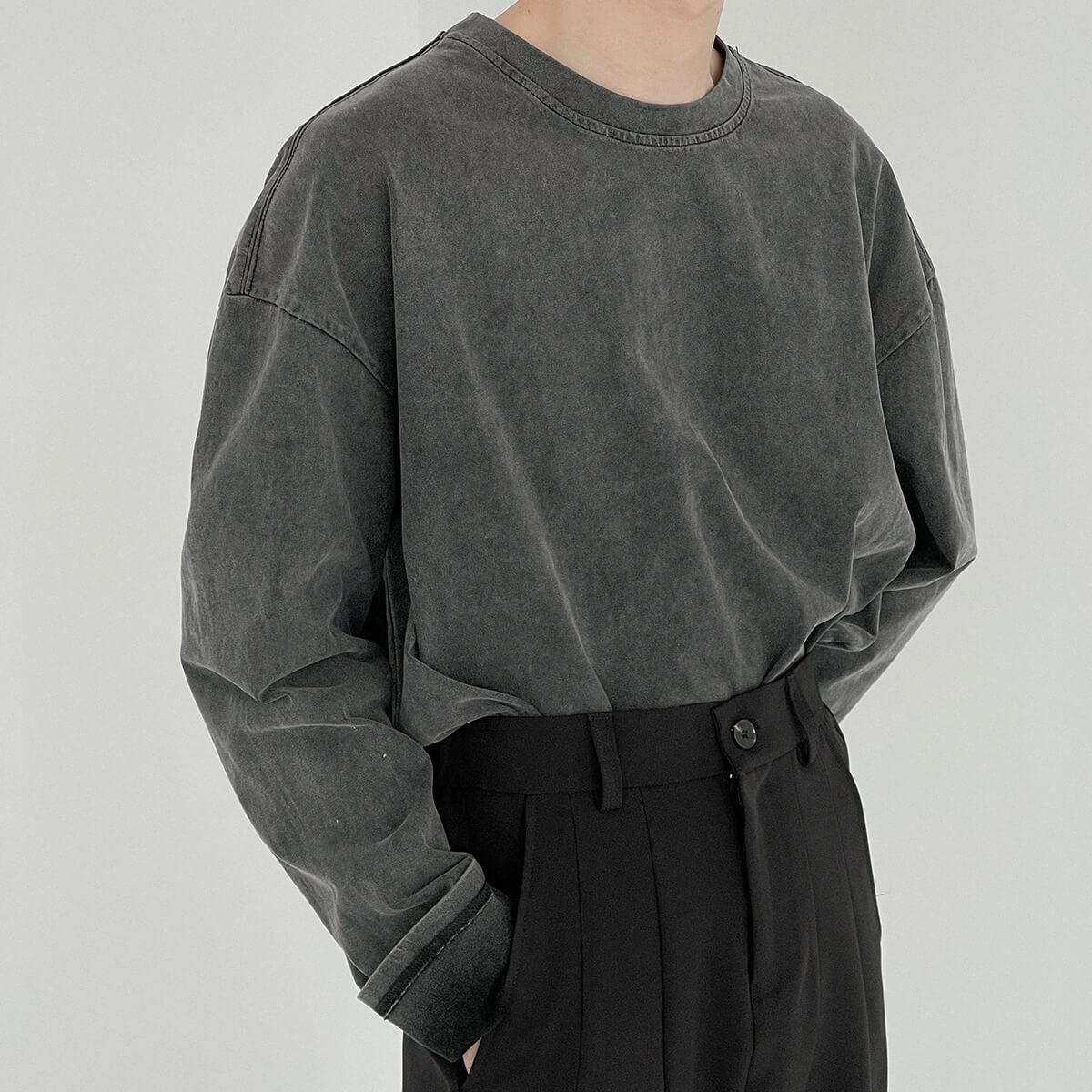 Лонгслив DAZO Studio Sweatshirt Grunge Shade (5)