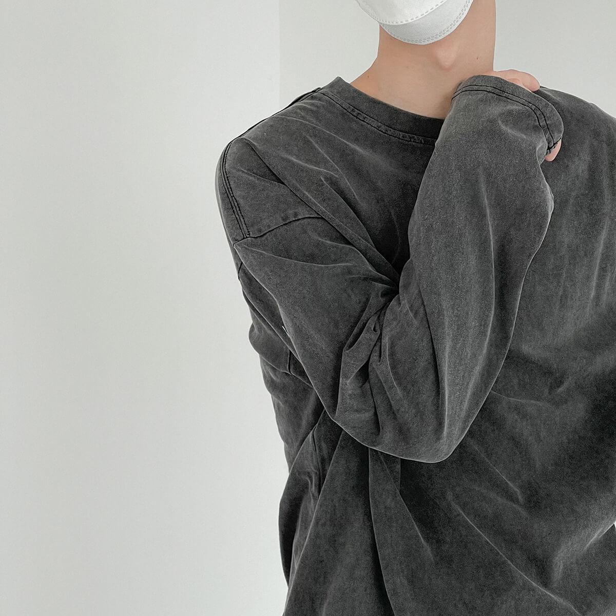 Лонгслив DAZO Studio Sweatshirt Grunge Shade (6)
