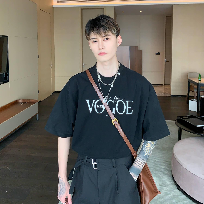 Футболка Cui Layout Studio T-shirt Wrong Vogue Print (2)