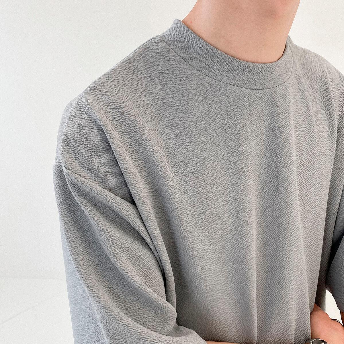 Футболка DAZO Studio Special Texture Chiffon T-Shirt (2)